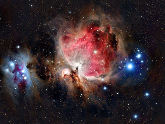 Orion Nebula M42 taken by Warren Norrie with TAKAHASHI TSA telescope